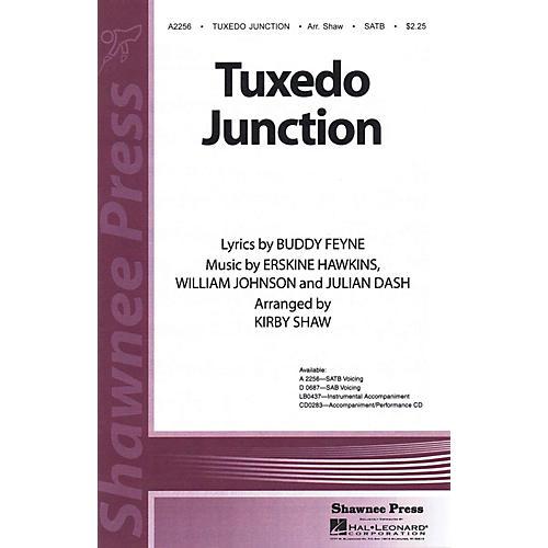 Shawnee Press Tuxedo Junction Studiotrax CD Arranged by Kirby Shaw