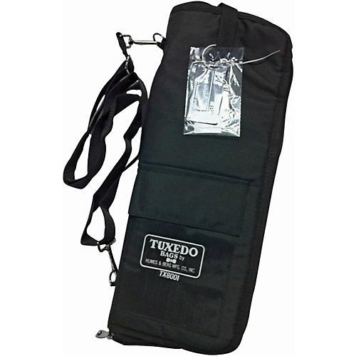 Humes & Berg Tuxedo Stick Bag with Shoulder Strap Black
