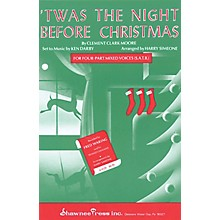 Shawnee Press 'Twas the Night Before Christmas SA Arranged by Harry Simeone