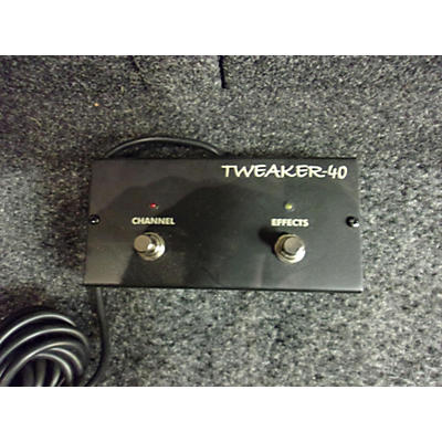 Egnater Tweaker 40 2-button Footswitch