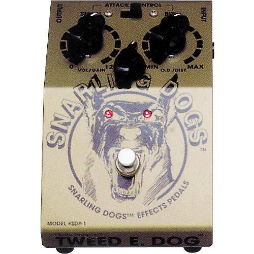 Snarling Dogs Tweed E Dog Vintage American Tube Emulator Pedal