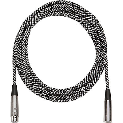 Musician's Gear Tweed Lo-Z Woven XLR Mic Cable