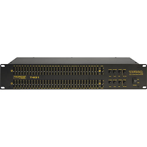 Tapco Tweeq T-231 Dual 31-band Equalizer