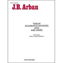 Carl Fischer Twelve Celebrated Fantasies And Airs Varies