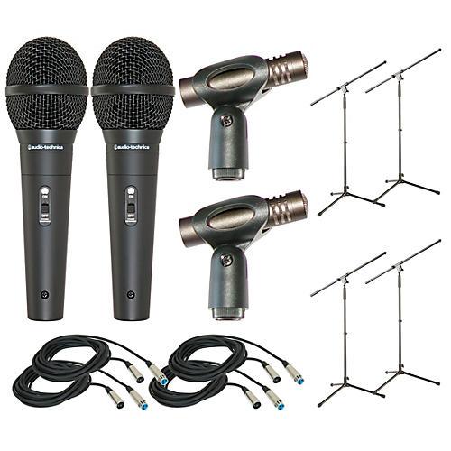 Audio-Technica Twelve Piece Mic Package