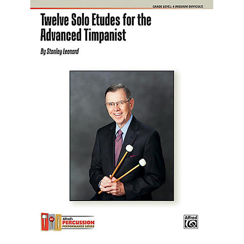Alfred Twelve Solo Etudes for the Advanced Timpanist Book