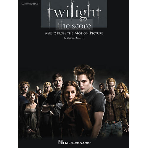 Hal Leonard Twilight - Music From The Motion Picture Score For Easy Piano Solo