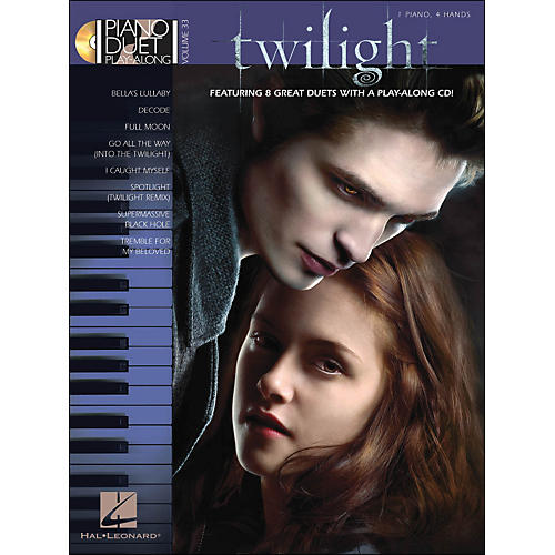 Hal Leonard Twilight - Music From The Motion Picture Soundtrack - Piano Duet Play-Along Vol 33