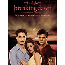 Hal Leonard Twilight Breaking Dawn, Part 1 Music From The Motion Picture Soundtrack for Piano/Vocal/Guitar