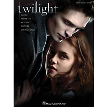 Hal Leonard Twilight Music From The Motion Picture Soundtrack arranged for piano, vocal, and guitar