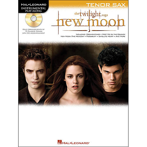 Hal Leonard Twilight: New Moon for Tenor Sax - Instrumental Play-Along CD/Pkg