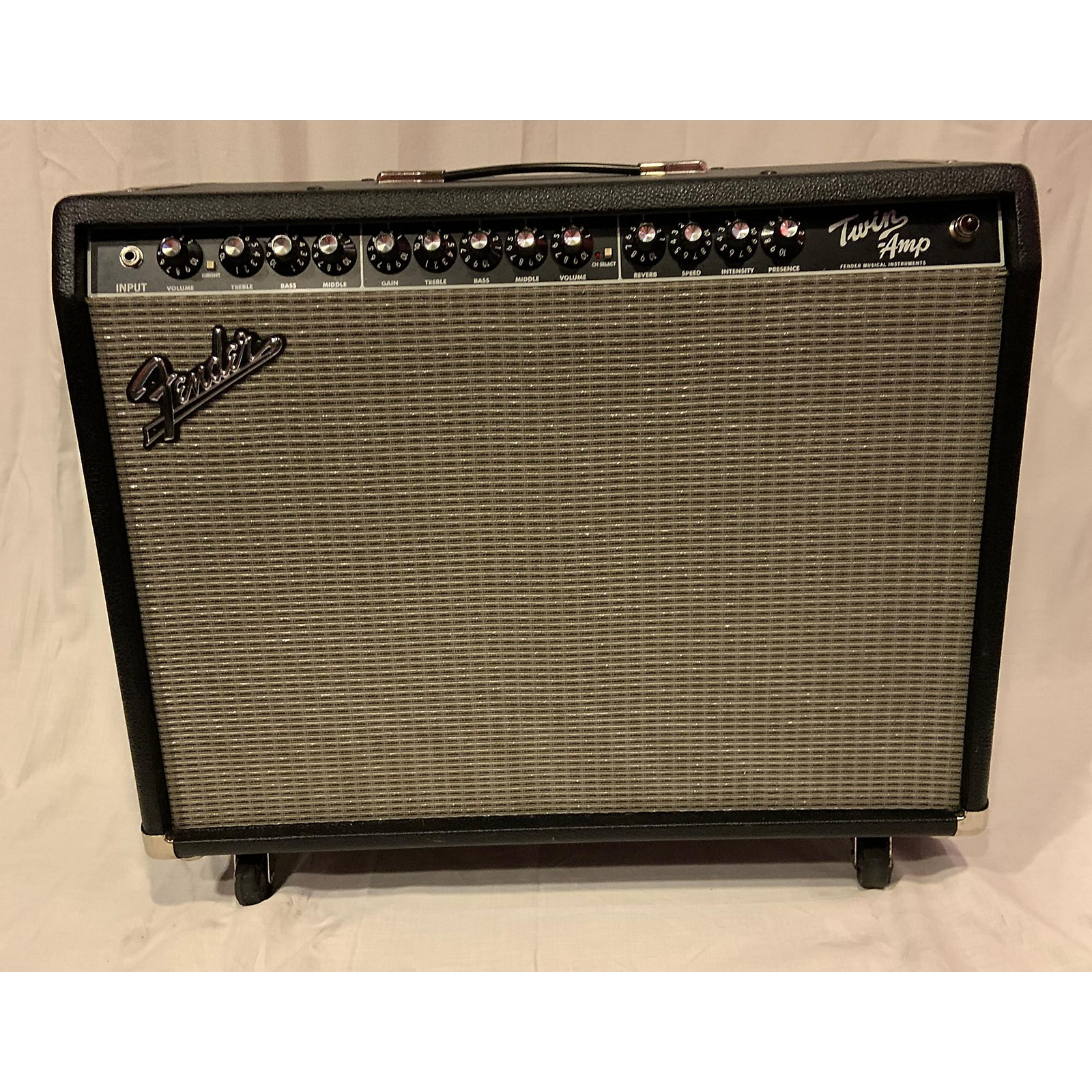 Fender Twin Amp Professional Tube Guitar Combo Amp