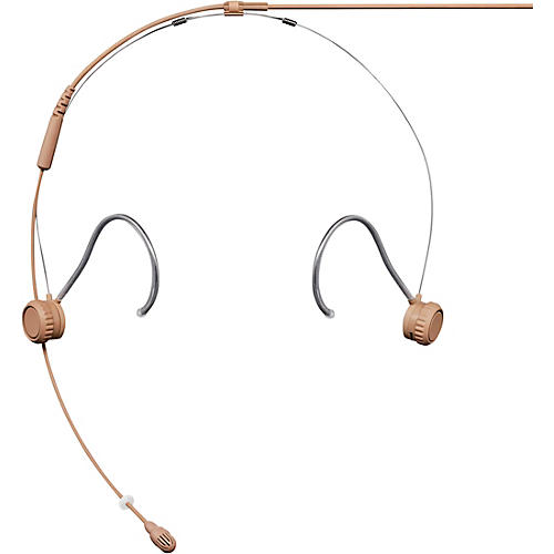 Shure TwinPlex TH53 Subminiature Headset Microphone LEMO Cocoa