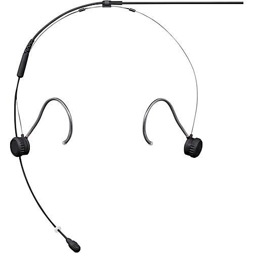Shure TwinPlex TH53 Subminiature Headset Microphone MDOT Black