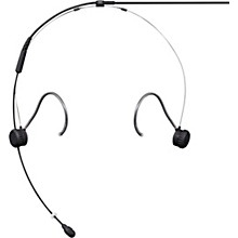 TwinPlex TH53 Subminiature Headset Microphone No Connector Black