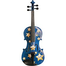 Twinkle Star Blue Glitter Series Violin Outfit 1/4