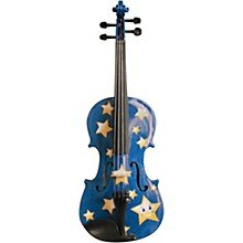 Rozanna's Violins Twinkle Star Blue Glitter Series Violin Outfit
