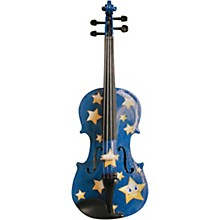Twinkle Star Blue Glitter Series Violin Outfit 4/4