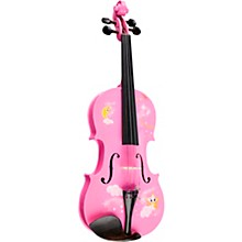 Twinkle Star Pink Glitter Series Violin Outfit 3/4