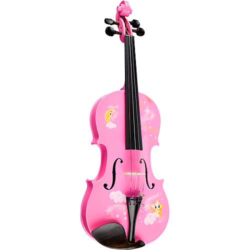 Rozanna's Violins Twinkle Star Pink Glitter Series Violin Outfit