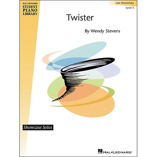Hal Leonard Twister - Showcase Solos Level 3 Hal Leonard Student Piano Library by Stevens