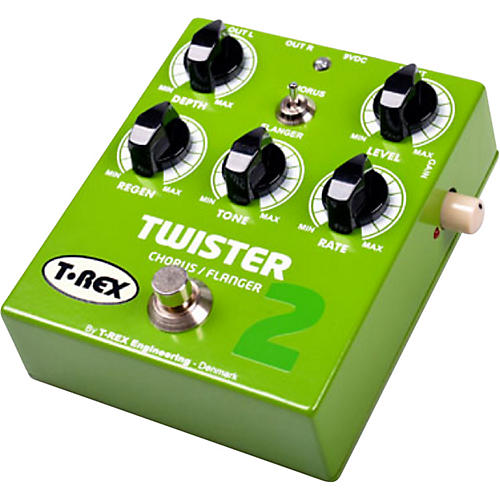 T-Rex Engineering Twister 2 Stereo Chorus and Flanger Guitar Effects Pedal