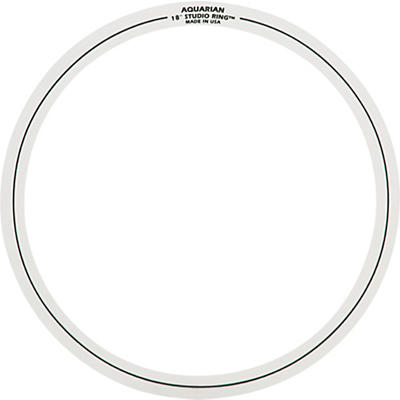 "Aquarian Two 18"" Studio Rings"