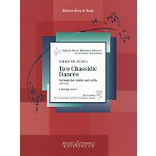 Hal Leonard Two (2) Chassidic Dances For Violin And Cello (1941/42) Terezin Memorial Project