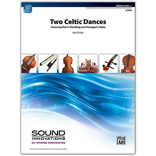 Alfred Two Celtic Dances Conductor Score 1