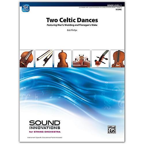 Alfred Two Celtic Dances Conductor Score 1