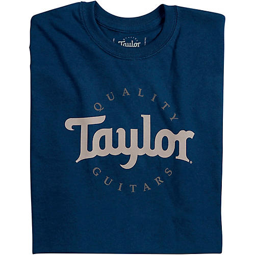 Taylor Two-Color Logo Tee X Large Navy