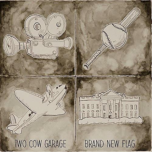 Alliance Two Cow Garage - Brand New Flag