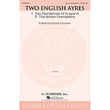 G. Schirmer Two English Ayres SA arranged by Emily Crocker