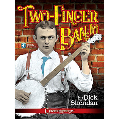 Hal Leonard Two-Finger Banjo by Dick Sheridan Book/Audio Online