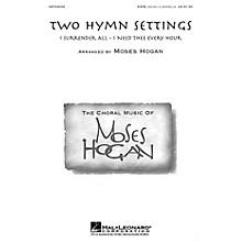 Hal Leonard Two Hymn Settings SATB DV A Cappella arranged by Moses Hogan