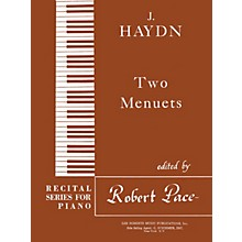 Lee Roberts Two Menuets (Recital Series for Piano, Brown (Book V)) Pace Piano Education Series by Josef Haydn