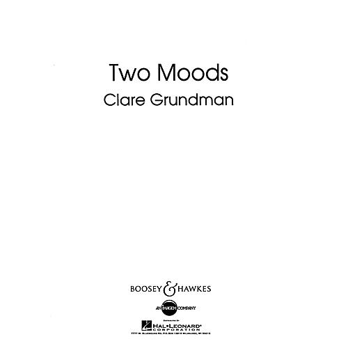 Boosey and Hawkes Two Moods Overture Concert Band Composed by Clare Grundman