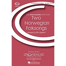 Boosey and Hawkes Two Norwegian Folksongs (CME Intermediate) 4 Part Treble A Cappella composed by Nils Vigeland