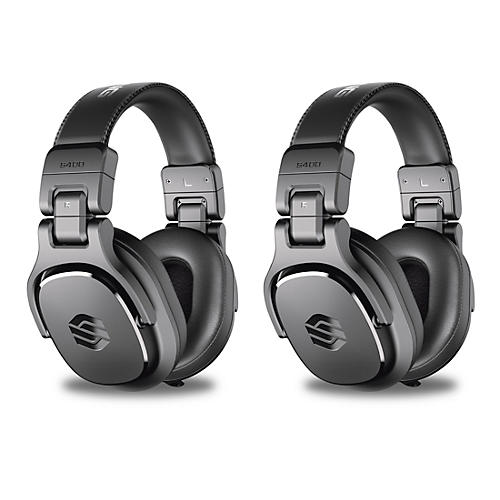 Sterling Audio Two Pair of S400 Headphones With 40 mm Drivers Black