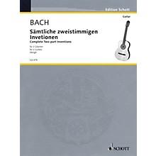 Schott Two Part Inventions (Two Guitars) Schott Series
