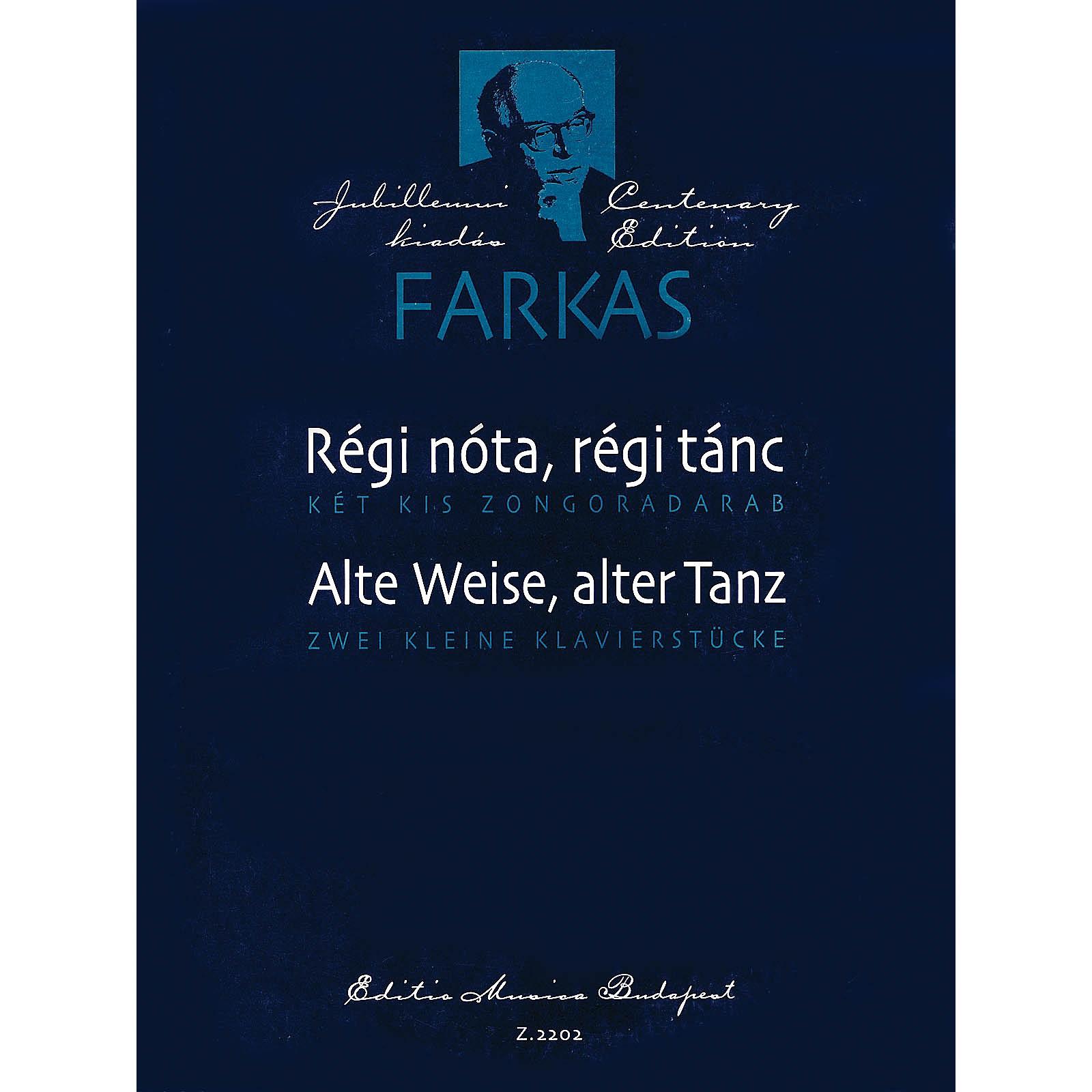Editio Musica Budapest Two Piano Pieces (Régi nóta, régi tánc (Alte Weise, alter Tanz)) EMB Series