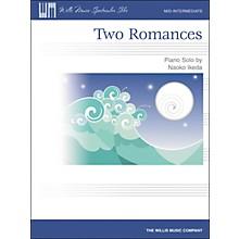 Willis Music Two Romances Mid-Intermediate Piano Solo by Naoko Ikeda