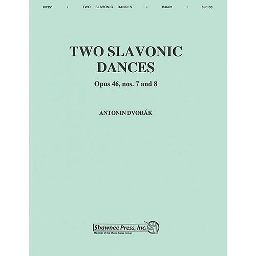 Hal Leonard Two Slavonic Dances Concert Band Level 3 Arranged by Andrew Balent