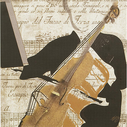 Gifts of Note Two String Player Prints