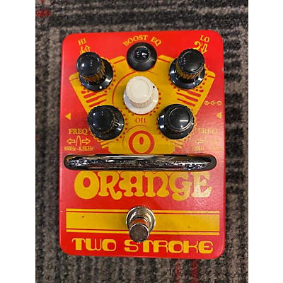 Orange Amplifiers Two Stroke Pedal