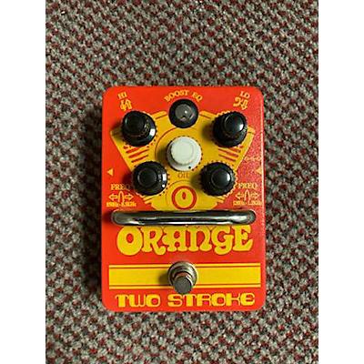 Orange Amplifiers Two Stroke Pedal