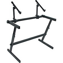 Open Box Quik-Lok Two Tier Z Keyboard Stand