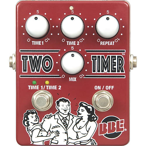 bbe two timer delay guitar effects pedal musician 39 s friend. Black Bedroom Furniture Sets. Home Design Ideas