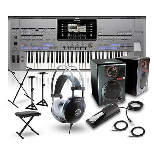Yamaha Tyros5-61 Portable Keyboard Package