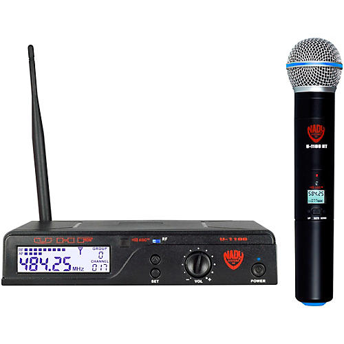 Nady U-1100 HT - 100 Channel UHF Handheld Wireless Microphone System Band A